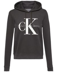 Calvin Klein - Gray Honour Logo Hoodie for Men - Lyst