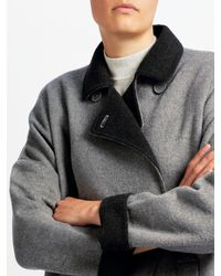 John Lewis - Gray Double Faced Jacket - Lyst