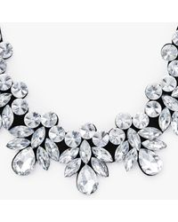 John Lewis - Metallic Crystal Statement Necklace - Lyst
