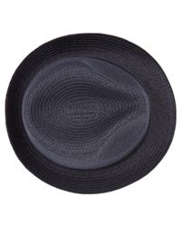 Reiss - Blue Thomas Woven Trilby Hat for Men - Lyst