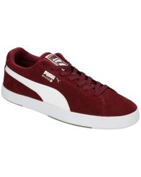 PUMA - Red Suede Classic Men's Trainers for Men - Lyst