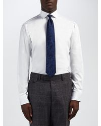 Ted Baker   White Rosest Tailored Fit Shirt for Men   Lyst