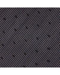 Calvin Klein - Gray Dot Silk Tie for Men - Lyst