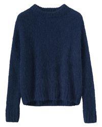 Toast - Blue Suri Alpaca Knit Jumper - Lyst