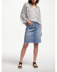 6dd1627e6f Gallery. Women's Button Down Skirts Women's Denim ...