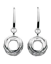 Kit Heath   Metallic Sterling Silver Nest Drop Earrings   Lyst
