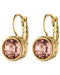 Dyrberg/Kern | Multicolor Dyrberg/kern Swarovski Crystal French Hook Drop Earrings | Lyst