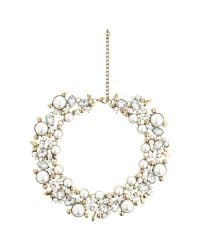 John Lewis | Metallic Faux Pearl And Glass Stone Statement Collar Necklace | Lyst