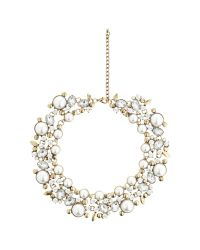 John Lewis - Metallic Faux Pearl And Glass Stone Statement Collar Necklace - Lyst