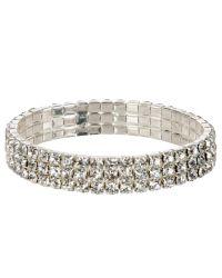 John Lewis | Metallic Diamantã© Sparkle Bracelet | Lyst