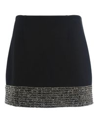 French Connection - Natural Crystal Shot Mini Skirt - Lyst