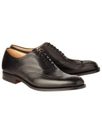 Church's - Black Berlin Leather Brogue Oxford Shoes for Men - Lyst
