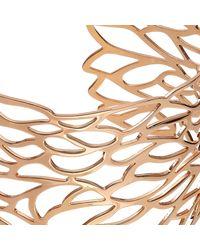 John Lewis - Metallic Cut Out Leaf Cuff - Lyst