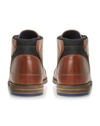 Dune - Brown Chopper Toecap Lace Shoes for Men - Lyst