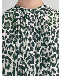 Somerset by Alice Temperley - Green Animal Print Maxi Dress - Lyst