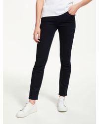 982c7beeba Lee Jeans Elly High Waist Slim Jeans in Blue - Lyst