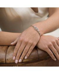 John Lewis - Metallic Ivory & Co. Heritage Cubic Zirconia Rose Bracelet - Lyst