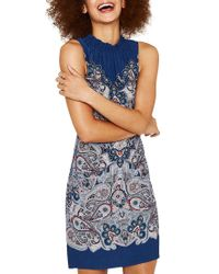 a8fd41e25db2 Oasis Paisley Shift Dress in Blue - Lyst