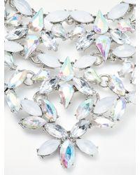 John Lewis - Metallic Large Statement Necklace - Lyst
