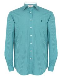 Thomas Pink - Green Herbie Check - Casual Slim Fit for Men - Lyst