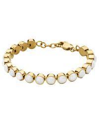 Dyrberg/Kern | White Dyrberg/kern Armine Tennis Bracelet | Lyst