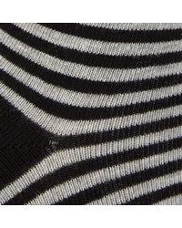 John Lewis - Multicolor Turn Over Stripe Ankle Socks - Lyst