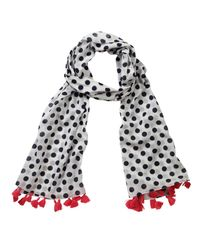 Pure Collection - Multicolor Spot Scarf - Lyst