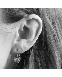 John Lewis - Metallic Dyrberg/kern Louise Crystal French Hook Drop Earrings - Lyst