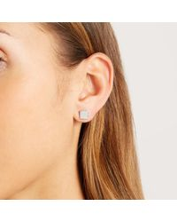 John Lewis - Multicolor Square And Circle Stud Earrings - Lyst