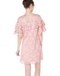 Miss Selfridge - Purple Premium Lilac Lace Dress - Lyst