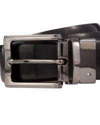 Ted Baker | Black Crafti Smart Leather Reversible Belt for Men | Lyst