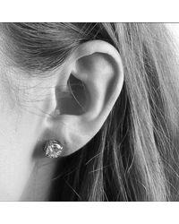 Dyrberg/Kern | Metallic Dyrberg/kern Nene Cubic Zirconia Crystal Stud Earrings | Lyst