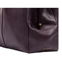 Lulu Guinness - Multicolor Jackie Grainy Leather Tote Bag - Lyst