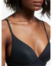 John Lewis - Black Willow Non-wired Bra - Lyst