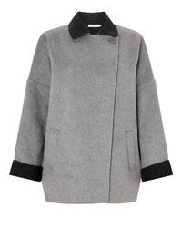 John Lewis | Gray Double Faced Jacket | Lyst