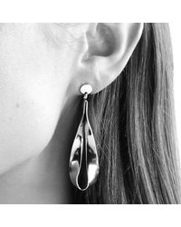 Dyrberg/Kern - Metallic Sculptural Drop Earrings - Lyst