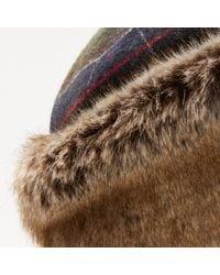 Barbour | Green Tartan Ambush Hat | Lyst