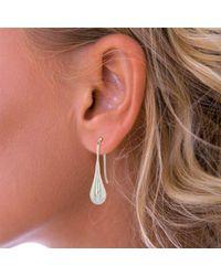 John Lewis - Metallic Nina B Pear Shaped Drop Earrings - Lyst