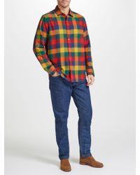 John Lewis - Multicolor Winter Bright Buffalo Check Shirt for Men - Lyst