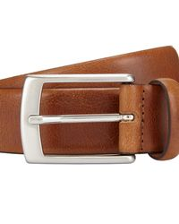 John Lewis - Brown Made In Italy Nevada Leather Belt for Men - Lyst