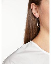 John Lewis - Metallic Long Wishbone Drop Earrings - Lyst