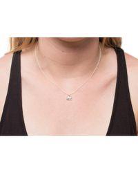 Dogeared - Metallic Lucky Elephant Pendant Necklace - Lyst
