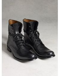John Varvatos | Black Six O' Six Boot for Men | Lyst