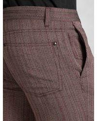 John Varvatos - Red Wool Motor City Jean for Men - Lyst