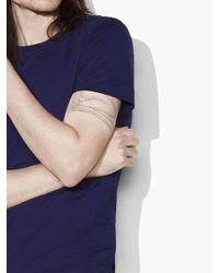 John Varvatos - Purple Striated Crewneck for Men - Lyst