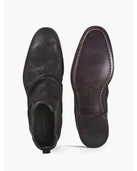 John Varvatos - Black Fleetwood Sharpei Chelsea for Men - Lyst