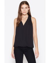 Joie | Black Naya Silk Top | Lyst