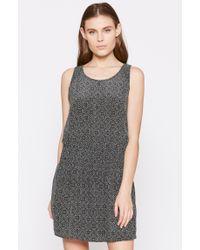 Joie | Gray Lawska Silk Dress | Lyst