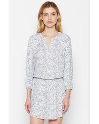 Joie | Gray Capriana Dress | Lyst