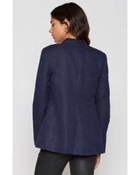Joie | Blue Amit Linen Blazer | Lyst